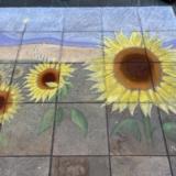 Festa Italia pavement art